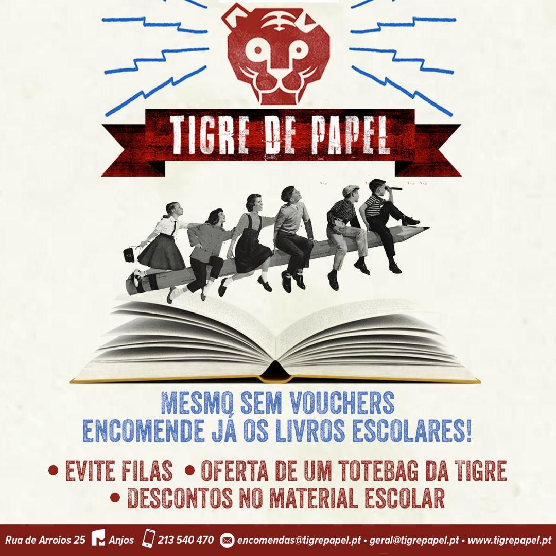 tigre de papel campanha livros escolares